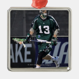 BOSTON, MA - MAY 14:  Stephen Berger #13 Square Metal Christmas Ornament