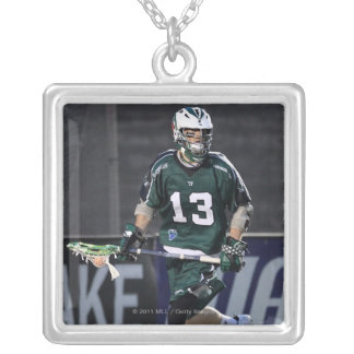 BOSTON, MA - MAY 14:  Stephen Berger #13 Silver Plated Necklace