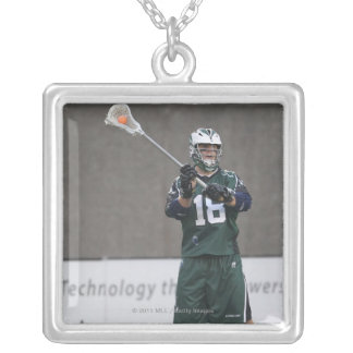BOSTON, MA - MAY 14:  Stephen Peyser #18 Silver Plated Necklace