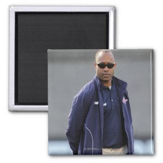 BOSTON, MA - MAY 21:  Coach Bill Daye 2 Inch Square Magnet