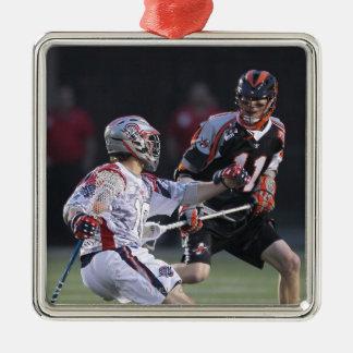 BOSTON, MA - MAY 21: Justin Bokmeyer #11 Metal Ornament