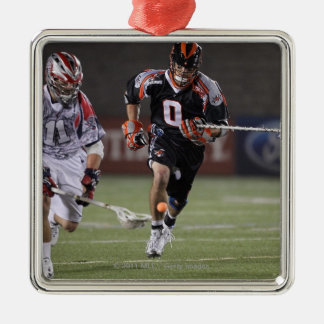 BOSTON, MA - MAY 21:  Kevin Unterstein #0 Square Metal Christmas Ornament