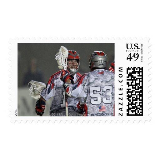 BOSTON, MA - MAY 21:  P.T. Ricci #1 2 Stamp