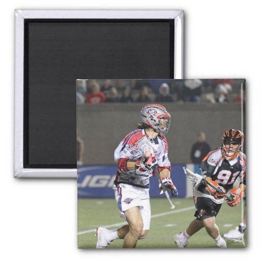 BOSTON, MA - MAY 21: Paul Rabil #99 2 2 Inch Square Magnet