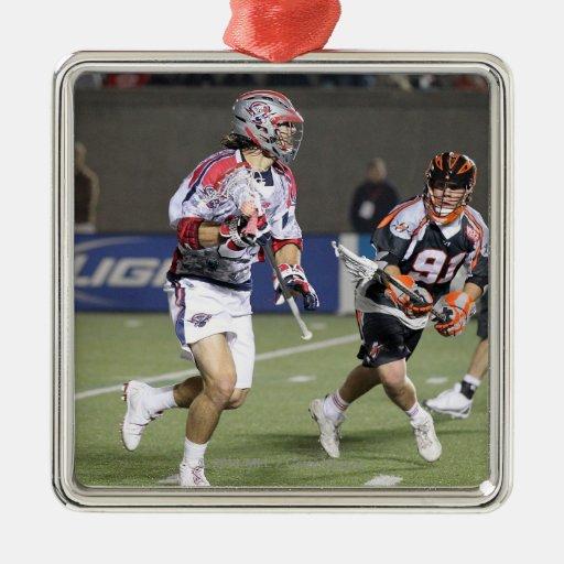 BOSTON, MA - MAY 21: Paul Rabil #99 2 Christmas Ornament