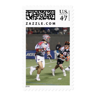 BOSTON, MA - MAY 21: Paul Rabil #99 2 Postage Stamp