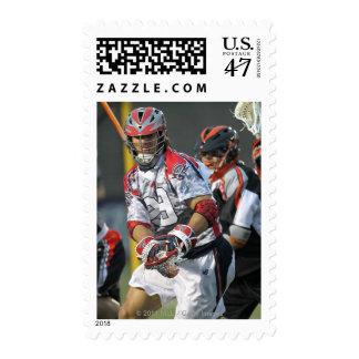 BOSTON, MA - MAY 21: Paul Rabil #99 5 Postage Stamp