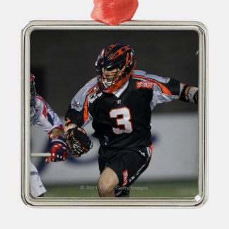 BOSTON, MA - MAY 21:  Steve Gianone #3 Square Metal Christmas Ornament
