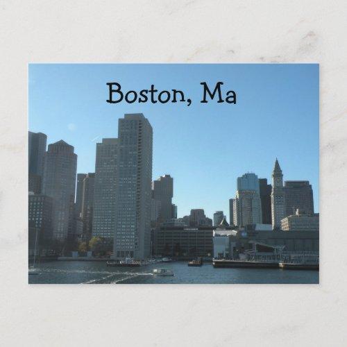 Boston MA Postcard postcard