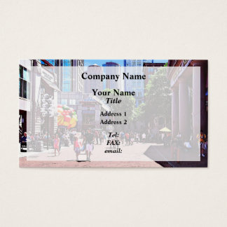 Boston MA - Quincy Market Business Card