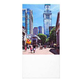 Boston MA - Quincy Market Card