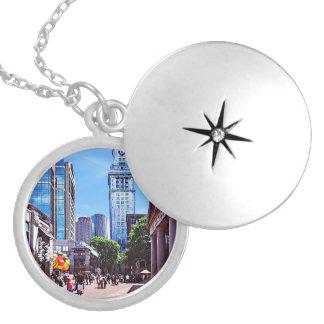 Boston MA - Quincy Market Locket Necklace