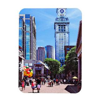 Boston MA - Quincy Market Magnet