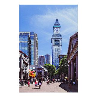 Boston MA - Quincy Market Poster