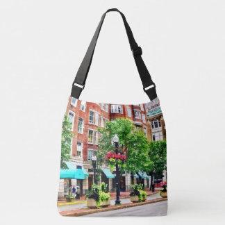 Boston MA - Shops Along Boyleston Street Crossbody Bag
