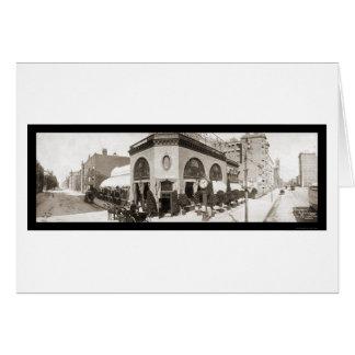 Boston, MA Store Photo 1903 Card