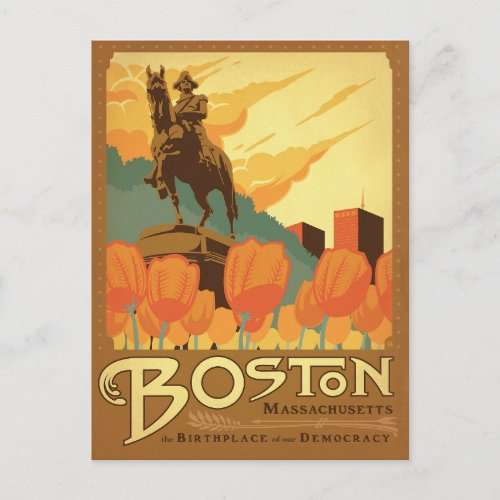 Boston MA _ The Birthplace of our Democracy Postcard