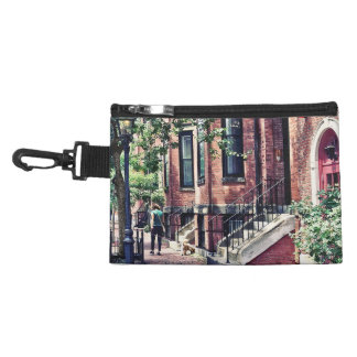 Boston MA - Walking the Dog on Mount Vernon Street Accessory Bag