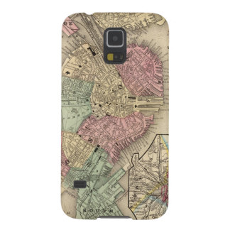 Boston Map by Mitchell Case For Galaxy S5