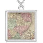 Boston Map by Mitchell Pendants
