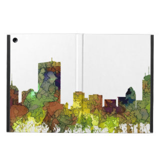 Boston Mas .Skyline Safari Buff Cover For iPad Air