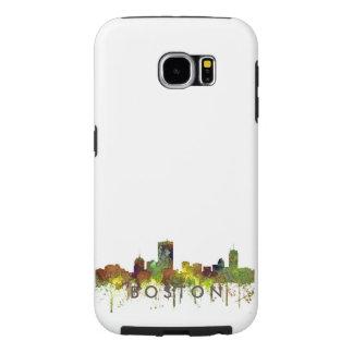 Boston Mas .Skyline Safari Buff Samsung Galaxy S6 Case