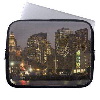 Boston, Masachusetts Skyline Computer Sleeve