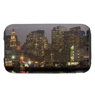 Boston, Masachusetts Skyline Tough iPhone 3 Covers