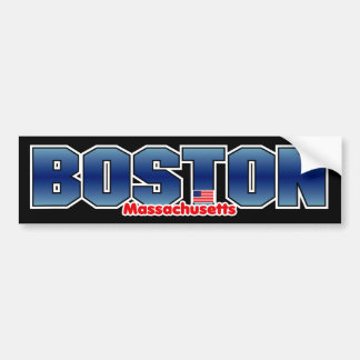 Boston Mass Bumper Bumper Sticker
