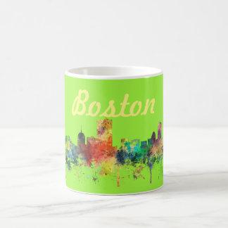 BOSTON MASS. SKYLINE SP - COFFEE MUG