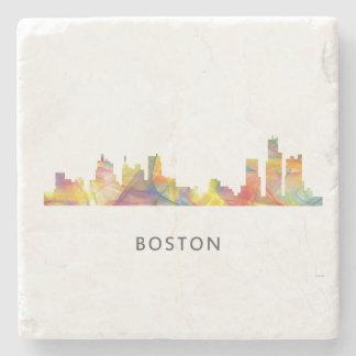 BOSTON MASS. SKYLINE WB1- STONE COASTER