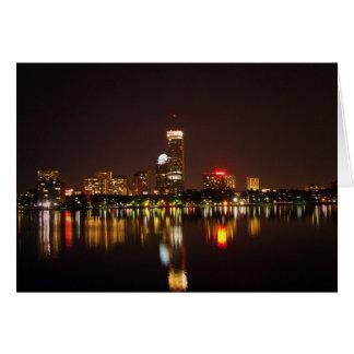 Boston, Mass, USA, Card