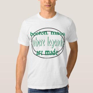 Boston Mass Where Legends Are Made T-shirt