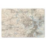 """Boston, Massachusetts 10"""" X 15"""" Tissue Paper"""