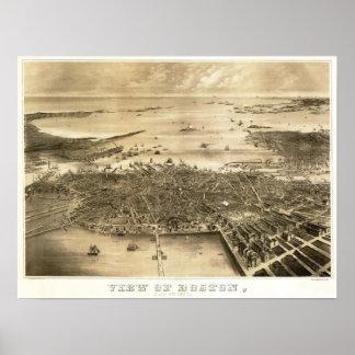 Boston, Massachusetts 1870 Impresiones