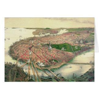 Boston Massachusetts 1877 Card