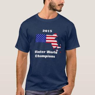 Boston Massachusetts 2015 Winter World Champions T-Shirt