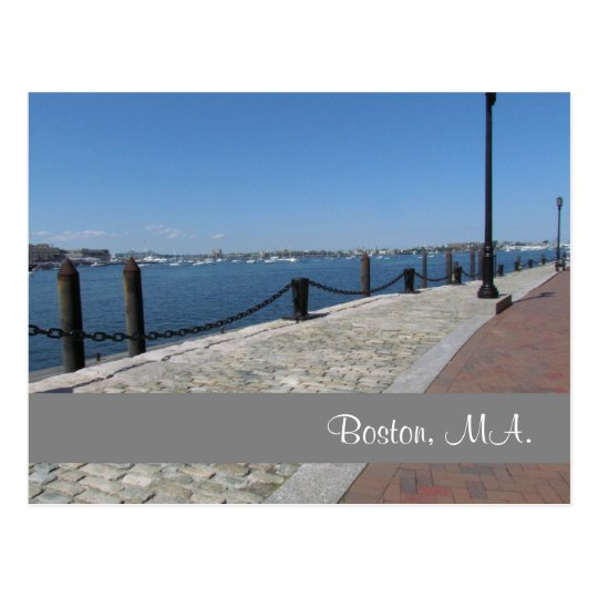 Boston, Massachusetts #2 Postcard