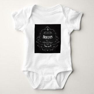 Boston Massachusetts - Athens of America Baby Bodysuit