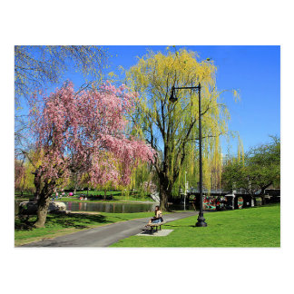 Boston, Massachusetts - Boston Gardens Post Card