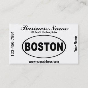 Massachusetts Business Cards Zazzle