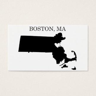 Boston Massachusetts Business Card