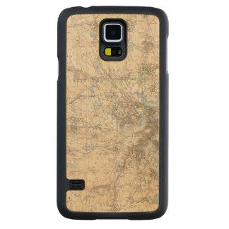 Boston, Massachusetts Carved® Maple Galaxy S5 Slim Case