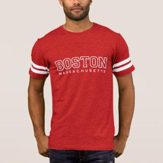 BOSTON massachusetts casual style graphic tee