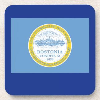 Boston Massachusetts Coaster