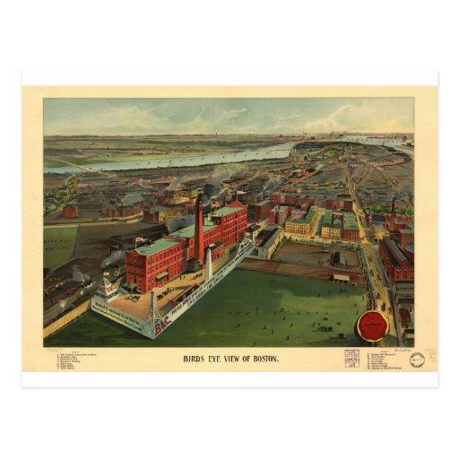 Boston, Massachusetts en 1902 Tarjeta Postal
