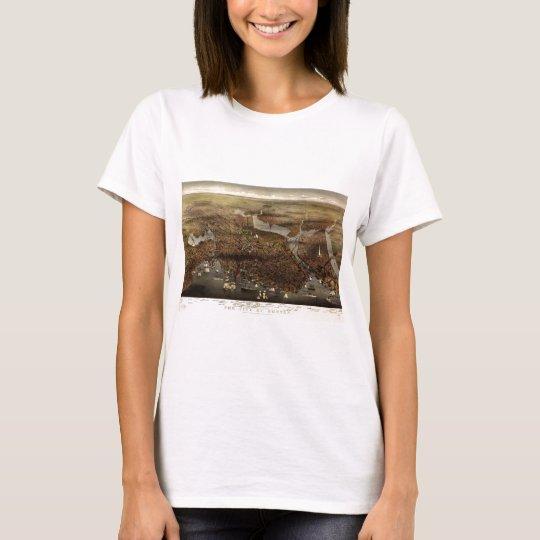 Boston, Massachusetts in 1873 T-Shirt