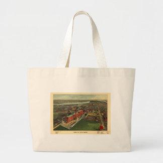 Boston, Massachusetts in 1902 Canvas Bags
