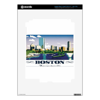 Boston, Massachusetts iPad 3 Skin
