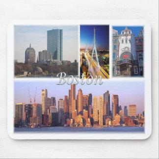 Boston Massachusetts los E.E.U.U. Tapete De Ratón